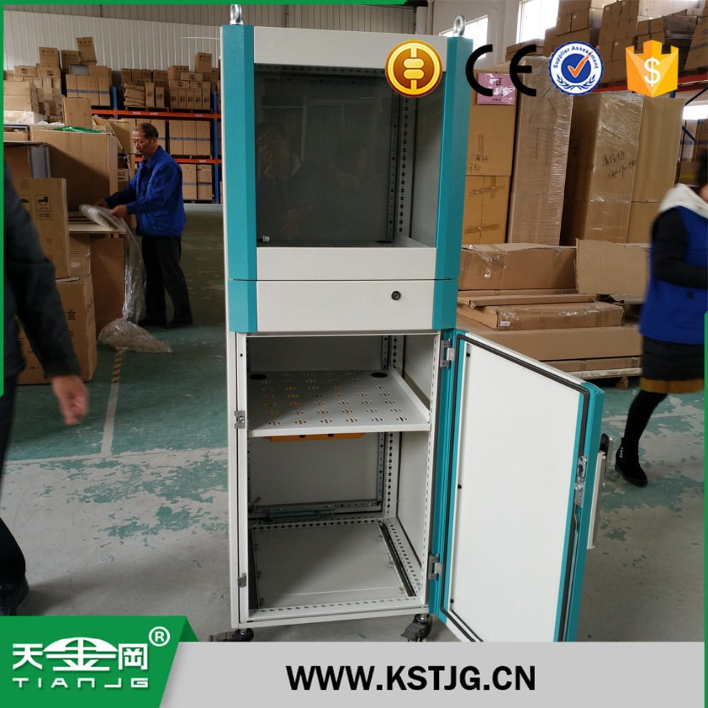 TJG high quality computer cabinet fireproof cabinet horizontal computer cabinet