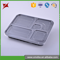 Take away plastic lunch storage container customized disposable food tray