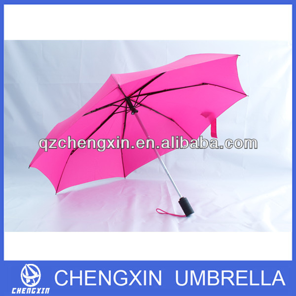 automatic windproof 3 foldable umbrella