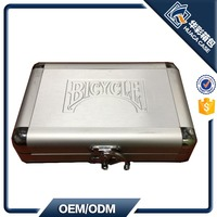 Aluminum Poker Case for Standard Bicycle Poker OEM Acceptable