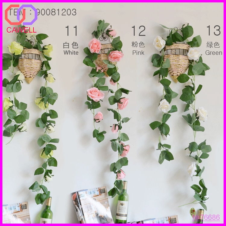 wedding decorative rose artificial flower garland