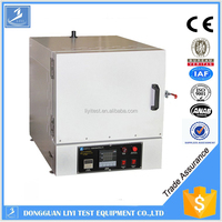 High temperature smelting muffle oven