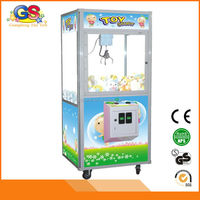 2015 beautiful arcade amusement used claw crane vending machine for sale