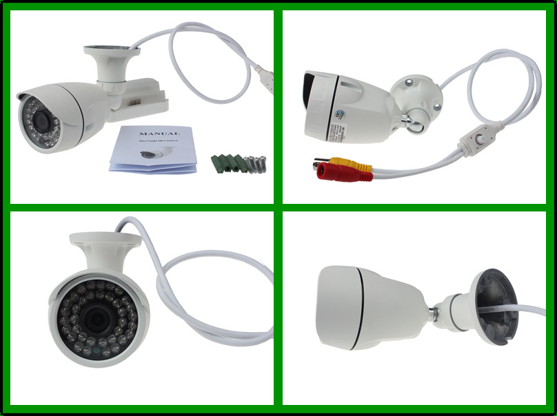 2015 Top 10 IR LED 20m home surveillance cameras bullet camera for outdoor