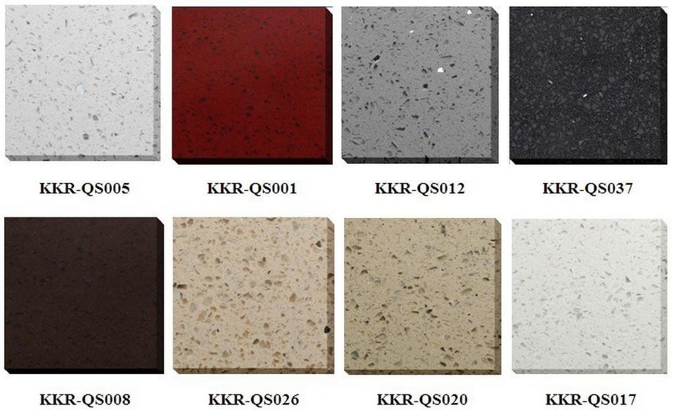 Quartz flooring tile