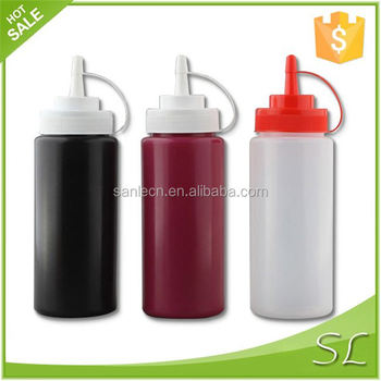 Special hot selling 500~1000ml ketchup salad sauce soy sauce squeeze plastic bottle