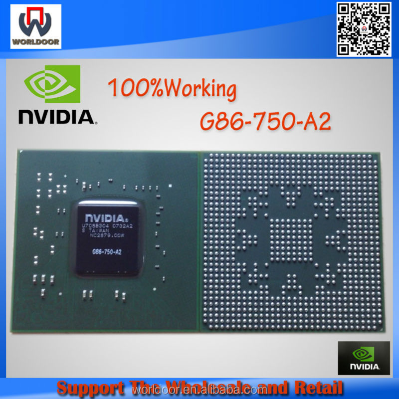 100%New&Original For NVIDIA G86-750-A2 IC VGA Chips