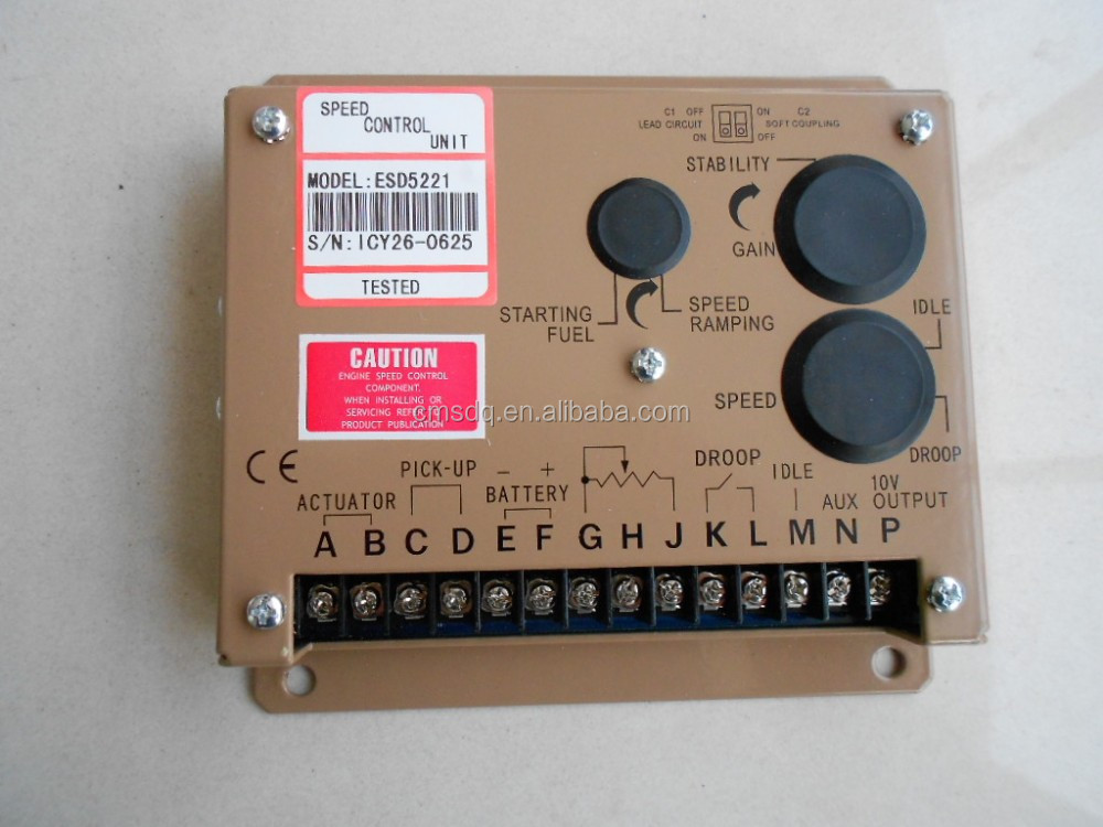 Diesel Generator Speed Control Unit ESD5221