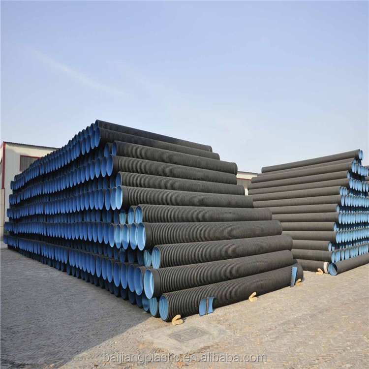 Wide Application HDPE Double Wall Corrugated Pipe
