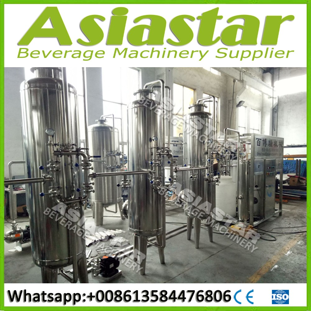 Industrial mineral water treatment equipment/production plant