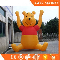 Large Inflatable jumping animal, kids hopper Winnie the Pooh animals toy