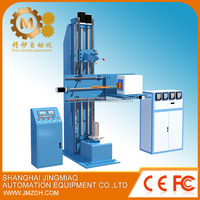 Induction heat treatment machine for motorcycle parts and roller quenching