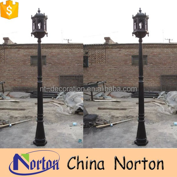 cheap price antique cast iron lamp post NTILP-011R