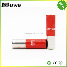 Lithium Ion 18650 3.7V 3000mAh cylindrical lipo rechargeable battery with tab