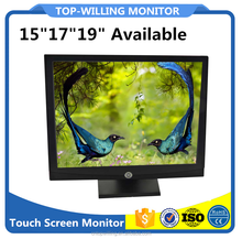 Game POG Touch Screen Monitor,19 inch LCD Resistive Touch Monitor Rs232 Touch