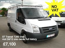 FORD TRANSIT T260 85 SWB closed box minibus for sale
