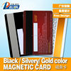 Different Magnetic Stripe colors plastic card pvc card