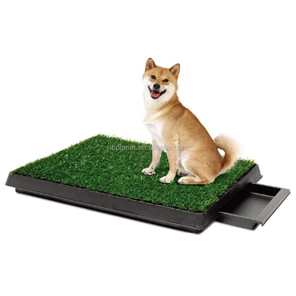 Pet Dog Training Grass Pad Zoom Park Potty Patch Mat