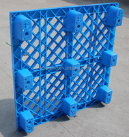 Light Duty Grid Top Nestable Plastic Pallet with Nine Legs on sale