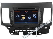 WITSON MITSUBISHI LANCER 2010-2011 CAR DVD GPS PLAYER WITH 1.6GHZ FREQUENCY 1080P 1G DDR RAM 8GB FLASH CAPACTIVE SCREEN