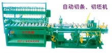 Clay brick cutter used in brick production line