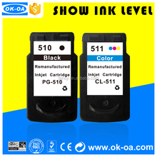 remanufactured ink cartridge for reset clips for 510/511 with special price