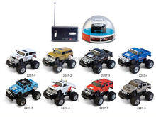 Wholesale 1:58 Sale MINI RC Hummer Car With Light
