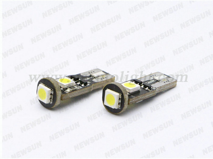 Factory Supply wedge base t10 led bulb T10 5630 10smd T10 bulb All Available
