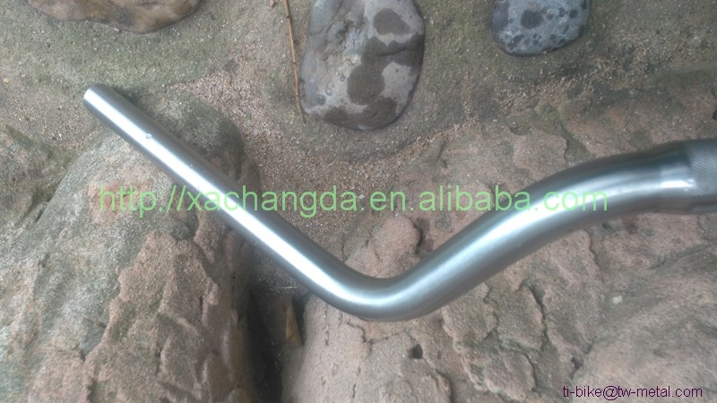Titanium Road bike handle bar from XACD factory China Titanium Bar for cycling Custom Titanium Handle bars with durable usage