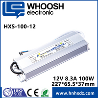 CE approved IP67 Waterproof outdoor 100W 12v switching power supply for LED