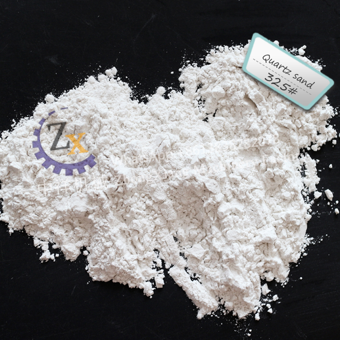 Low iron 99.95% sio2 dry silica sand