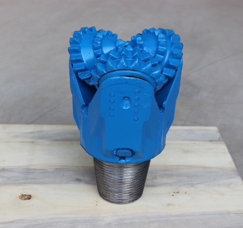 2018 hot sale high level steel tooth tricone bit for oil well drilling