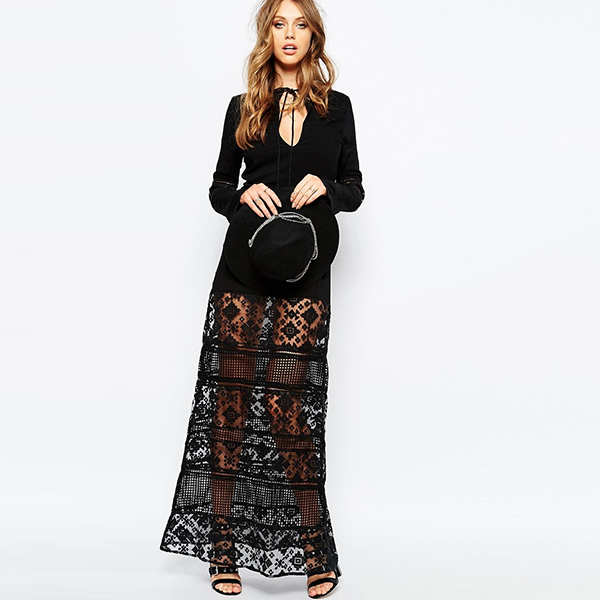 sexy nighty maxi dresses western frock designs for ladies