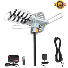 Hot selling outdoor tv antenna 150 miles digital tv antenna with high definition 4K ready factory supply