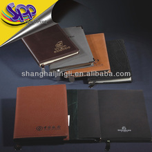 PU Leather Fabric covered spiral notebooks
