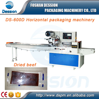 Semi-automatic Dried Beef / Meat Pillow Packing Machine Price