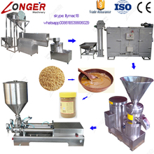 Factory Supply Industrial Peanut Butter Making Production Line Tahini Machine Price