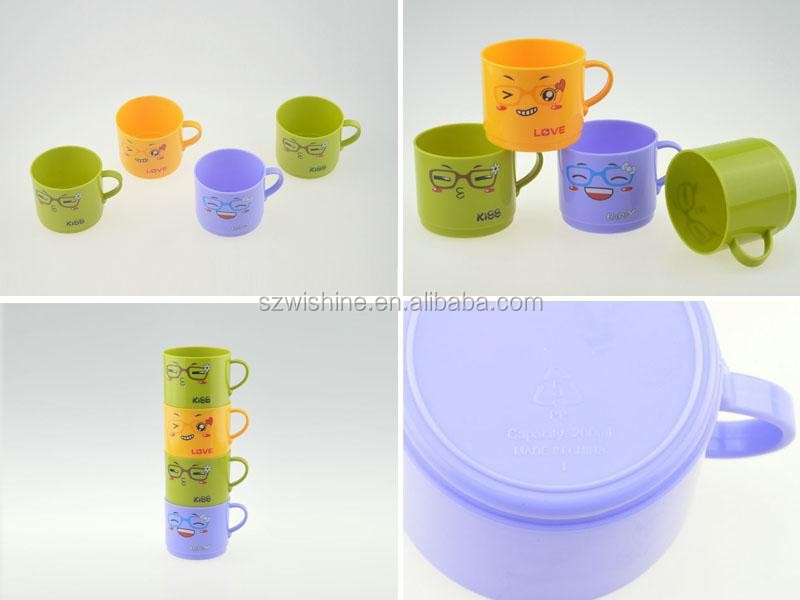 hot sale factory bottom price fashion plastic kid <strong>cup</strong>