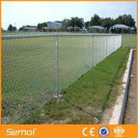 china supplier metal decorative garden fencing chain link fence prices
