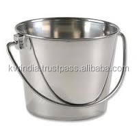 stainless steel sanitary bucket