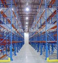 heavy-duty metal rack for warehouse solution
