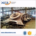 Carbon Steel Fabricated Excavator Undercarriage Track Frame in Dalian China