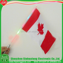LED Flashing Canada Flag Manufacturer Canada Flag Factory