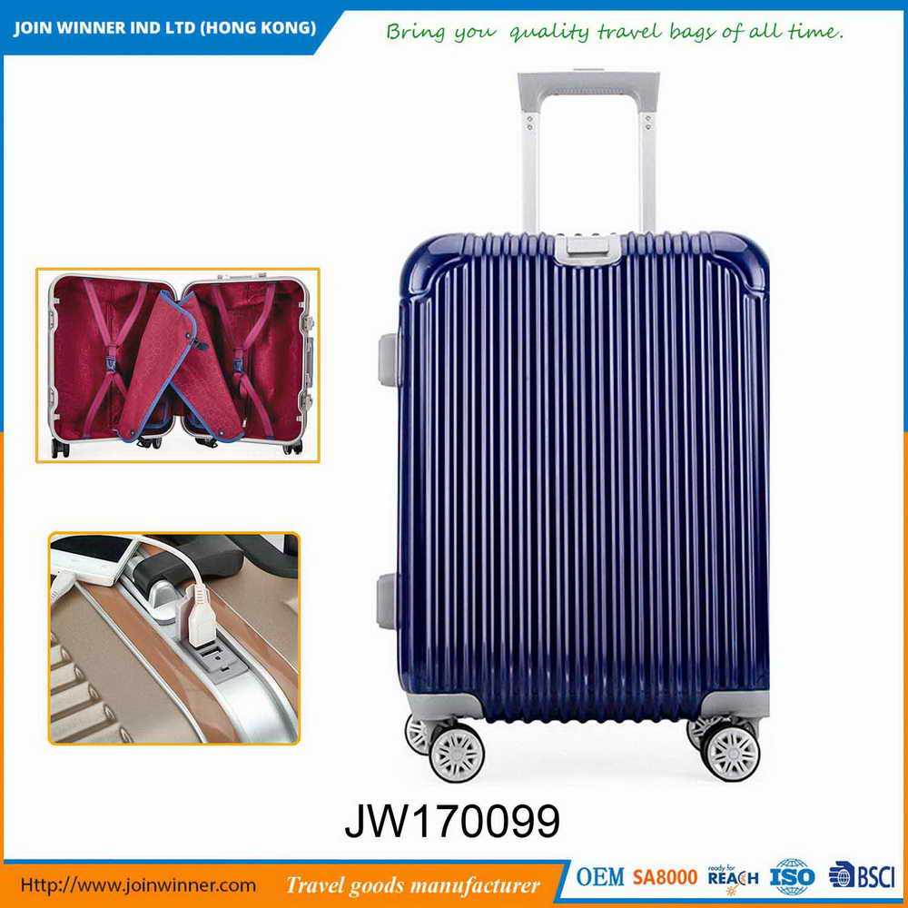 High End Cheap Hard Shell Luggage Set For Office