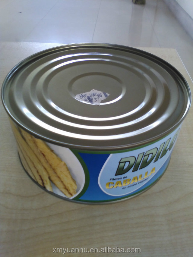 canned tuna fillet in soya oil