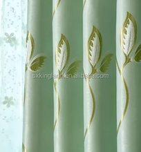 Blackout curtain fabric jacquard blackout curtain type of office window curtain