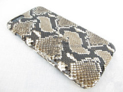 China Luxury Real Python Skin for iPhone 4 Case Design Handmade