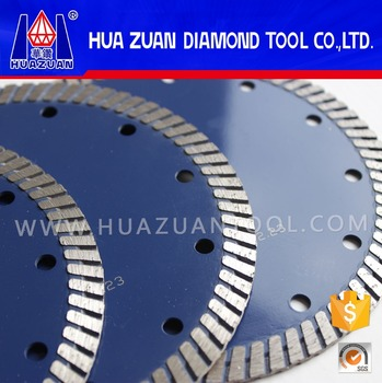 Small Turbo Circular Saw Blades for cutting granite