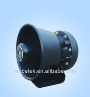 2013 new loudspeaker SD-100A 100W 132dB Horn loudspeaker Auto siren used in police car Steel breaket