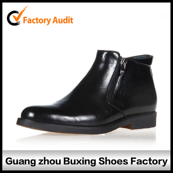 wholesale men leather boots for men natural leather winter boots